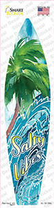 Salty Water Vibes Wholesale Novelty Surfboard Sticker Decal