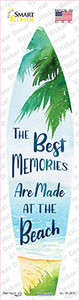 Best Memories at the Beach Wholesale Novelty Surfboard Sticker Decal
