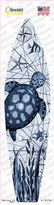 Black and White Sea Turtle Wholesale Novelty Surfboard Sticker Decal