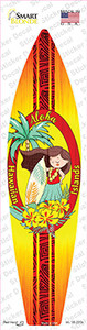 Aloha Hawaiian Islands Wholesale Novelty Surfboard Sticker Decal