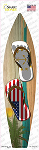 Rhode Island Flag Flip Flop Wholesale Novelty Surfboard Sticker Decal
