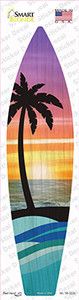Palm Trees Sunset Wholesale Novelty Surfboard Sticker Decal