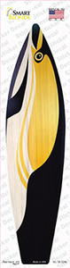 Black And Yellow Fish Wholesale Novelty Surfboard Sticker Decal