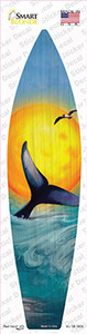 Whale And Sunset Wholesale Novelty Surfboard Sticker Decal
