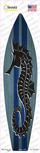 Seahorse Blue Striped Wholesale Novelty Surfboard Sticker Decal