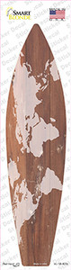 Old Map Wholesale Novelty Surfboard Sticker Decal