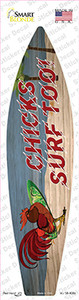 Chicks Surf Too Wholesale Novelty Surfboard Sticker Decal