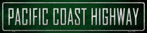 Pacific Coast Highway Wholesale Metal Novelty Street Sign