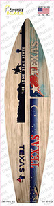 Texas License Plate Wholesale Novelty Surfboard Sticker Decal