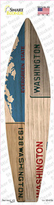 Washington License Plate Wholesale Novelty Surfboard Sticker Decal