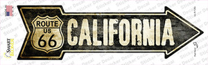 Vintage Route 66 California Wholesale Novelty Arrow Sticker Decal