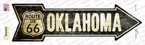 Vintage Route 66 Oklahoma Wholesale Novelty Arrow Sticker Decal