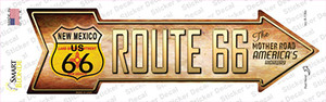 Route 66 New Mexico Flag Wholesale Novelty Arrow Sticker Decal
