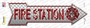 Fire Station Wholesale Novelty Arrow Sticker Decal