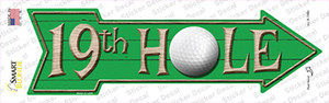 19th Hole Wholesale Novelty Arrow Sticker Decal