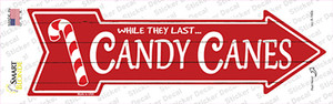 Candy Canes Wholesale Novelty Arrow Sticker Decal