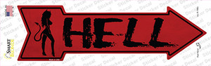 Hell Wholesale Novelty Arrow Sticker Decal