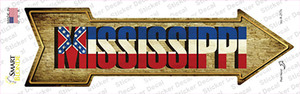 Mississippi Wholesale Novelty Arrow Sticker Decal