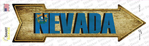 Nevada Wholesale Novelty Arrow Sticker Decal