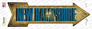 New Hampshire Wholesale Novelty Arrow Sticker Decal