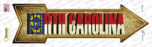 North Carolina Wholesale Novelty Arrow Sticker Decal