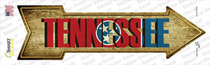 Tennessee Wholesale Novelty Arrow Sticker Decal