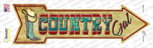 Country Gal Wholesale Novelty Arrow Sticker Decal