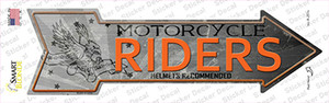 Motorcycle Riders Wholesale Novelty Arrow Sticker Decal