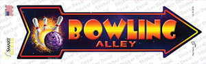 Bowling Alley Wholesale Novelty Arrow Sticker Decal