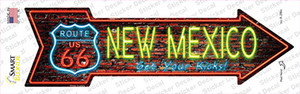 New Mexico Neon Wholesale Novelty Arrow Sticker Decal