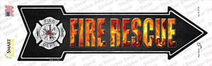 Fire Rescue Wholesale Novelty Arrow Sticker Decal