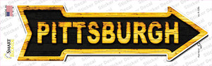 Pittsburgh Wholesale Novelty Arrow Sticker Decal