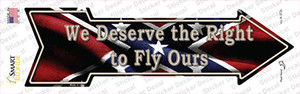 We Deserve The Right Wholesale Novelty Arrow Sticker Decal