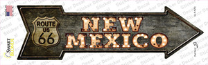 New Mexico Route 66 Bulb Letters Wholesale Novelty Arrow Sticker Decal
