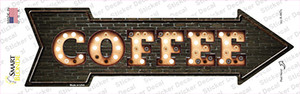 Coffee Bulb Letters Wholesale Novelty Arrow Sticker Decal