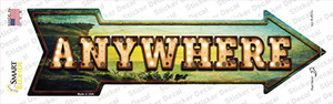 Anywhere Bulb Letters Wholesale Novelty Arrow Sticker Decal
