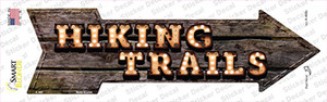 Hiking Trails Bulb Letters Wholesale Novelty Arrow Sticker Decal
