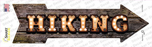 Hiking Bulb Letters Wholesale Novelty Arrow Sticker Decal