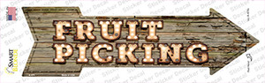 Fruit Picking Bulb Letters Wholesale Novelty Arrow Sticker Decal