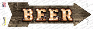 Beer Bulb Letters Wholesale Novelty Arrow Sticker Decal
