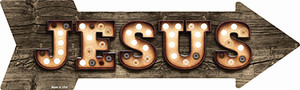 Jesus Bulb Letters Wholesale Novelty Arrow Sticker Decal