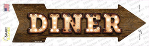 Diner Bulb Letters Wholesale Novelty Arrow Sticker Decal