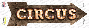 Circus Bulb Letters Wholesale Novelty Arrow Sticker Decal
