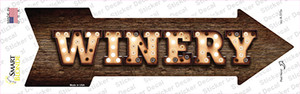 Winery Bulb Letters Wholesale Novelty Arrow Sticker Decal