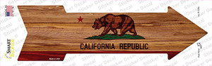 California State Flag Wholesale Novelty Arrow Sticker Decal