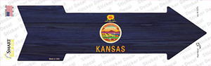Kansas State Flag Wholesale Novelty Arrow Sticker Decal