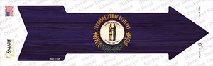 Kentucky State Flag Wholesale Novelty Arrow Sticker Decal