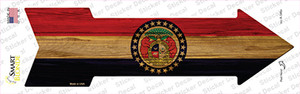 Missouri State Flag Wholesale Novelty Arrow Sticker Decal