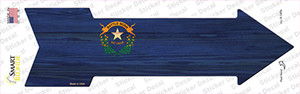 Nevada State Flag Wholesale Novelty Arrow Sticker Decal