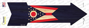 Ohio State Flag Wholesale Novelty Arrow Sticker Decal